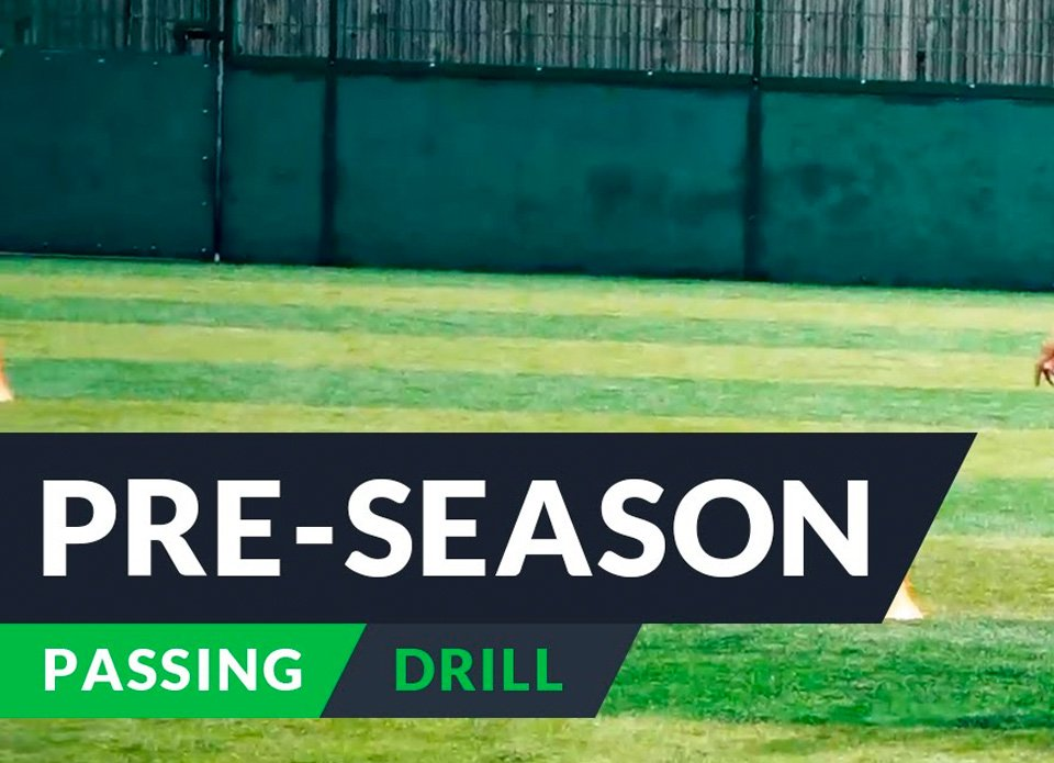Pre-season training for football- Passing
